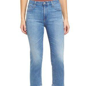NEW AG The Isabelle High Waist Straight Leg Jeans